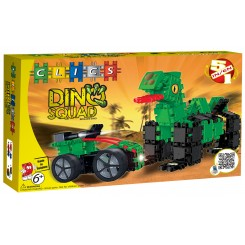 Set 5 in 1 Clics Echipa Dino