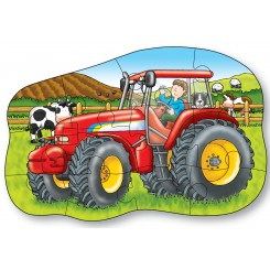 Puzzle fata/verso - Tractor - Orchard Toys (300)