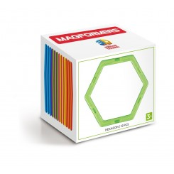 Set rezerve MAGFORMERS - Hexagon (12 buc)
