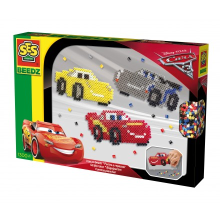 SES Beedz - Set margele - Disney Cars 3